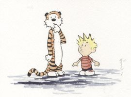 calvin and hobbes by 2508