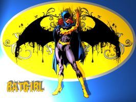 Batgirl Suiting Up by KellCandido