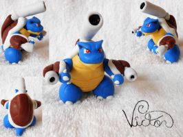 Mega Blastoise by VictorCustomizer
