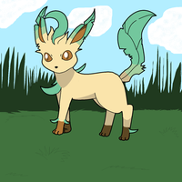 Leafeon by ObstinateAnarchist