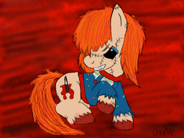 New Chucky Drawing by CKittyKat98