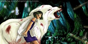 Mononoke | I'll protect you | Fan Art by Aintza-K