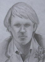 Fifth Doctor Drawing by chopper481