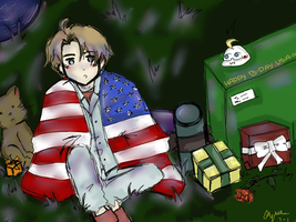Happy Early Birthday, America~! by PrussiaOtaku