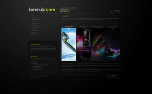 :web: 'Folio by benrulz