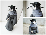 Plague Doctor Doll by mar-rie