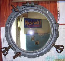 Objects 024 porthole by Dreamcatcher-stock