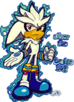 Silver The Hedgehog by kameiko
