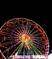 Ferris Wheel Round and Round by coralmcmurtry