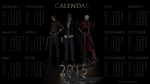 Calendar for the year 2015 by Taitiii