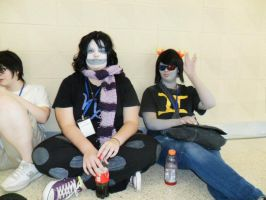 TnT 2012 Gamzee and Sollux by AxistXXI
