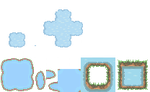 Tons of Tileset 9/10 - something like water by Phyromatical