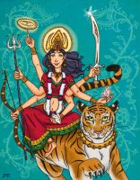 Durga by lily-stardust