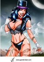 Savage Land Zatanna by Mythical-Mommy