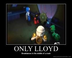 Gotta love Lloyd by TombRaiderNinja
