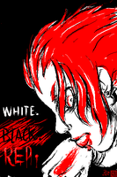 White. Black. Red. by Psiweapon