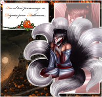 [CdR] Halloween Event- Bloody Kitsune by MisuKag