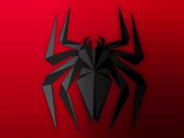 Spiderman Logo Facet by Synthasion