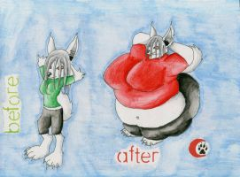 Commission: Before and After by Marrok-Milliardo
