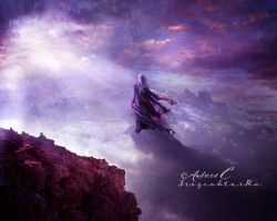 Journey above the clouds by FrozenStarRo