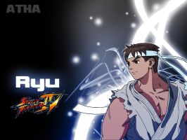 Street Fighter: Ryu- Wallpaper by AlexTHF