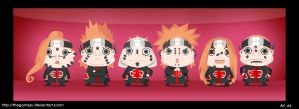Chibi 6 paths of pain by TheGameJC