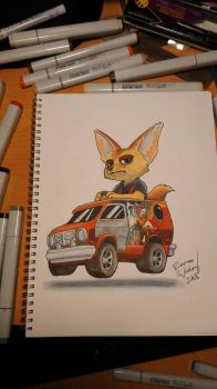 Finnick by mindofnoodles