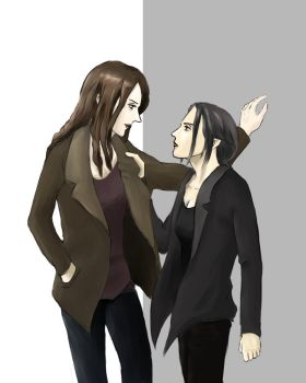 Root and Shaw by KevinAusting