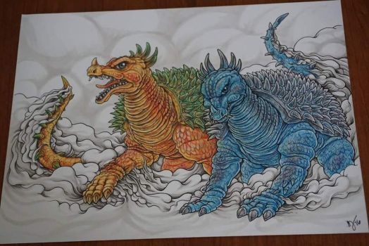 Anguirus Commission by tin-tower