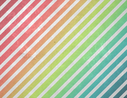 Rainbow Grunge Stripe by R2krw9