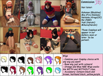 Choose your Commission Cosplay by Natsuko-Hiragi