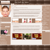 Natural Healing CompanyLayout by WebMedia123