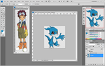 Sneak Peek Digimon Group 2 by Moelleuh