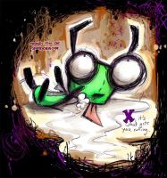 GIR - Xtacy baby by SpookyChan