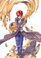 Gaara all mighty by Roggles