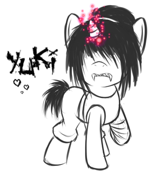Yuki:-be a PONY too- by PPGxRRB-FAN