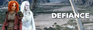SyFy Defiance Banner-Irisa and Stahma by nickelbackloverxoxox