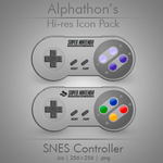 SNES controller icons by Alphathon