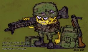 SGT ROB by ARMAMENTFACTORY