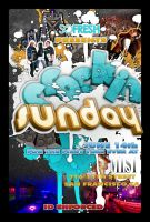 Crackin Sunday Flyer by yellow-five