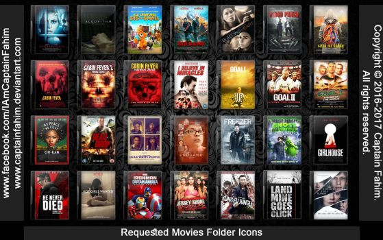 Requested Movies Folder Icons - Code #70000005 by CaptainFahim