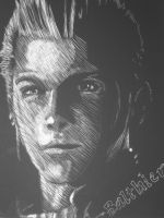Scratchboard - Balthier by damagectrl