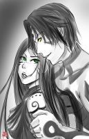 Saia and Sin by TyrineCarver