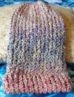 Strawberries and Cream Soft Blended Beanie by Wootzie14