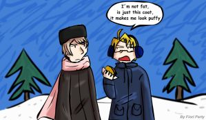 APH - Winter chat by fiori-party