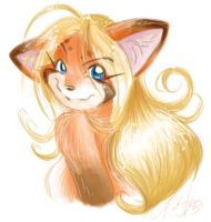 Smirk by otakukitty