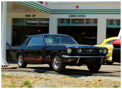 A Sharp Black Mustang by TheMan268