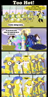 Too hot by Vector-Brony