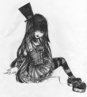 Gothic lolita by Ocean-Roses