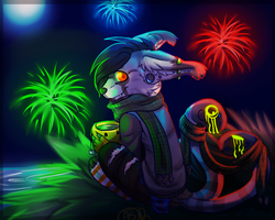 Happy New Year by Rellosaur